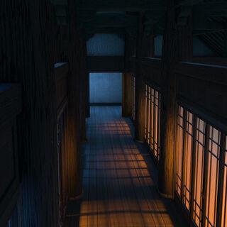 Interior of barracks