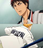 Kagami encounters Hayama anime
