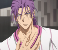 Murasakibara with ponytail