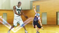 Kuroko and Kagami pass Dad anime
