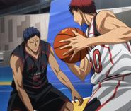 Kagami vs Aomine (anime)