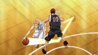 Hayama tries to pass Kagami anime