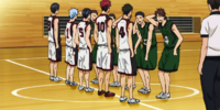 Seirin High vs Meijō Academy