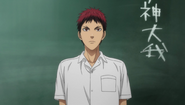 Kagami in American Middle School