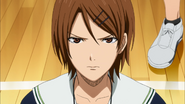 Riko is worried for Kiyoshi