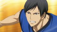 Moriyama defending