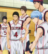 Seirin regulars