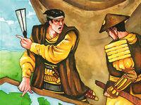 Ijiasu in the siege of Ryoko Owari