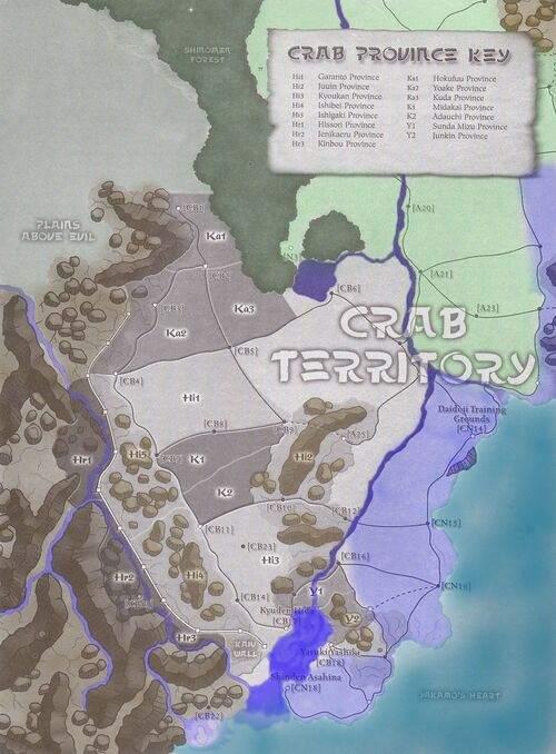 Crab Clan Provinces
