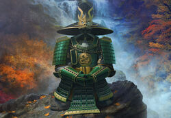 Ancestral Armor of the Dragon Clan