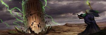 Junzo creates the Iron Citadel