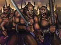 Ogre Warriors