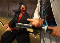 Shosuro Hirobumi in a duel