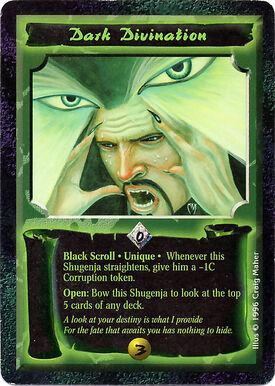 Dark Divination-card