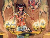Shahai in a Blood ritual