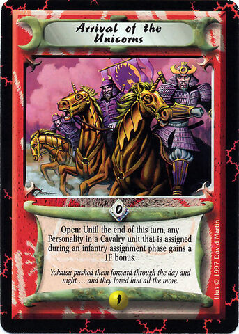 File:Arrival of the Unicorns-card.jpg