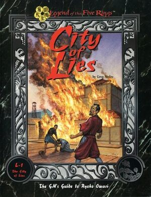 City of Lies; GM's Guide