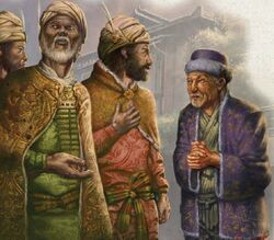 Ivory Kingdoms merchants