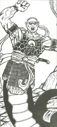 Constrictor Warrior