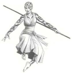 Tattooed Monk 2