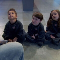 Baby Adam, Bree and Chase