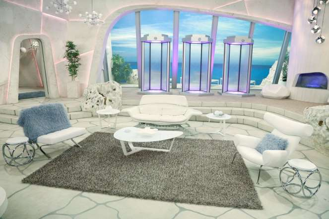 Lab Rats House Living Room
