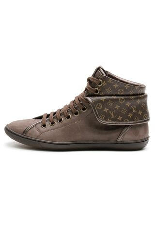 File:Louis Vuitton - Monogram Canvas and leather brea sneaker.jpg