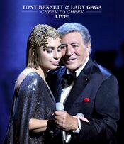 Cheek to Cheek LIVE artwork