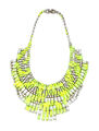 Tom Binns - Slap Dash crystal bib necklace