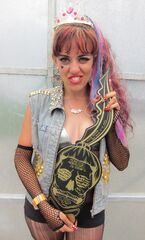 The Born This Way Ball Monster pit key holder 11-9-12