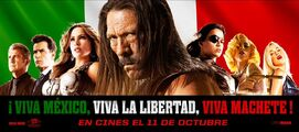 Machete Kills Viva Machete Header