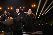 2-8-15 57th Grammy Awards - Performance at Staples Center in LA 001