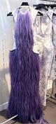 Charlie Le Mindu Fall 2012 Purple Hair Dress