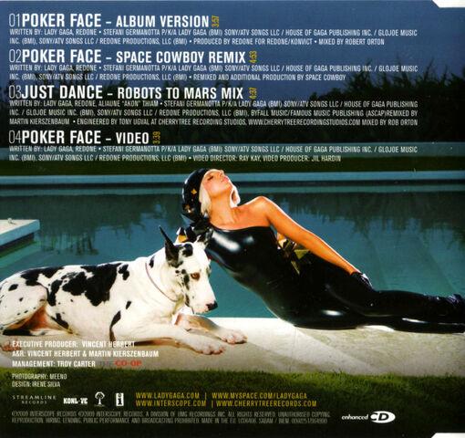 File:Lady Gaga - Poker Face - Back.jpg