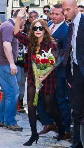 File:4-6-14 Arriving at Roseland Ballroom in NYC 002.jpg