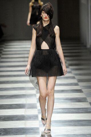 File:Prada Spring 2010 RTW Black Silk and Nylon Organza Dress.jpg