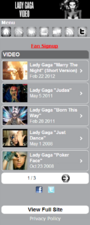 M.LadyGaga.com - Video
