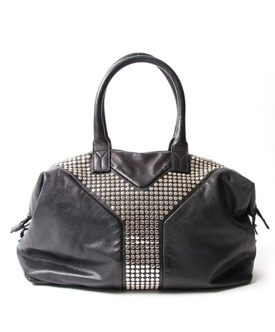 File:Saint Laurent - Easy Rock studded leather tote.jpeg