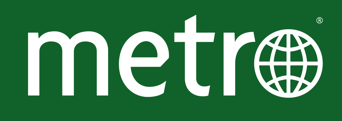 Metro International Newspaper Logo