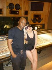 Lady Gaga and Teddy Riley