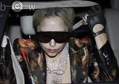 12-12-10 Arriving at Palacio De Deportes in Madrid 001