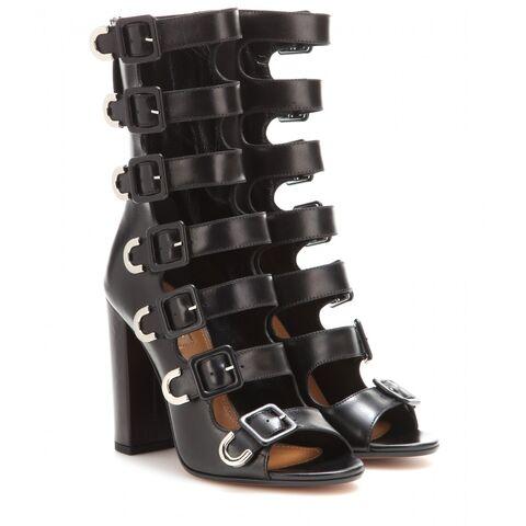File:Aquazzura - Tutto Buckle leather sandals.jpg
