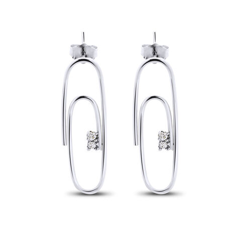 File:Lauren Klassen - Gold diamond paperclip stud earring.jpg