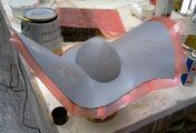 Nasir Mazhar for Mugler - Custom hat