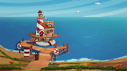 Marina's lighthouse