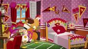 Peppy's bedroom