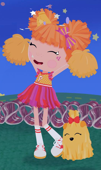 Peppy Pom Poms Animation Lalaloopsy Land Wiki Fandom