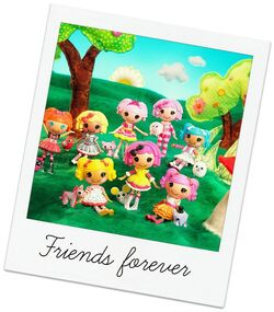 Original 8 Mini Lalaloopsy Cast
