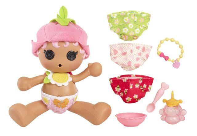 File:Blossom Flowerpot doll - Babies (Diaper Surprise) - sitting complete.jpg