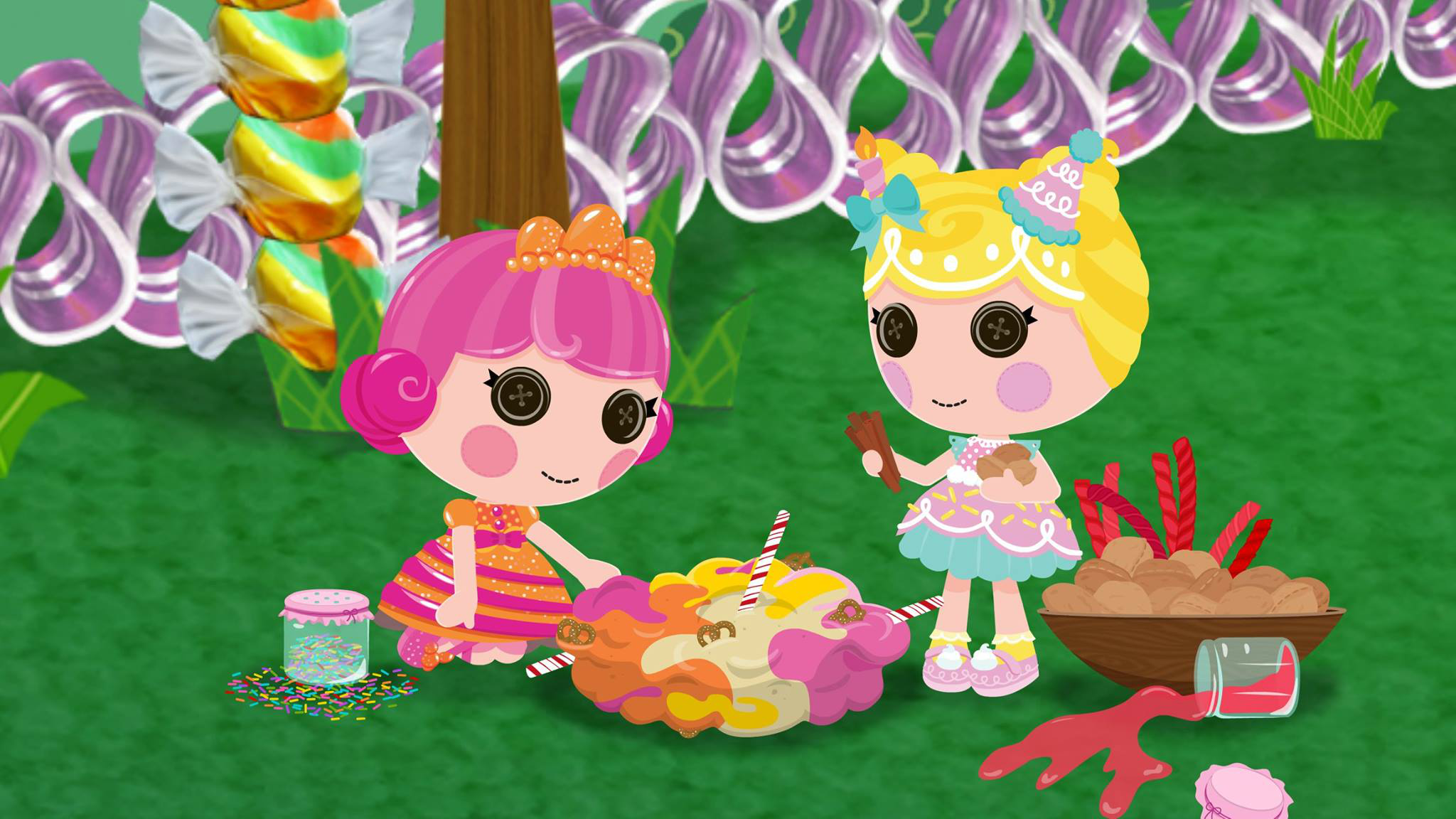 Image - LFoSS Giggly and Wishes.png | Lalaloopsy Land Wiki ...
